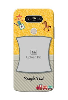 LG G5 Baby Picture Upload Mobile Cover Design