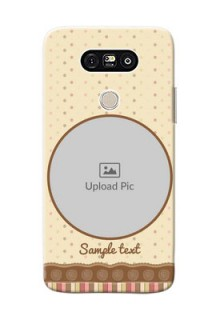 LG G5 Brown Abstract Mobile Case Design