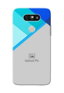LG G5 Blue Abstract Mobile Cover Design