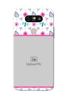 LG G5 Colourful Flowers Mobile Cover Design
