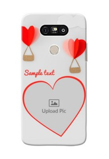 LG G5 Love Abstract Mobile Case Design