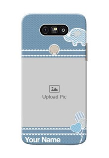 LG G5 kids design icons with  simple pattern Design Design