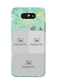 LG G5 family is forever design with floral pattern Design