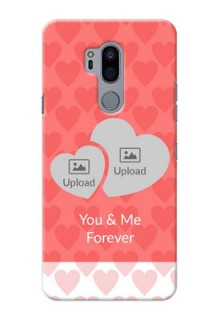 LG G7 Plus personalized phone covers: Couple Pic Upload Design