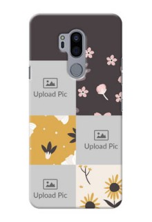 LG G7 Plus phone cases online: 3 Images with Floral Design