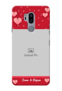 LG G7 Plus Mobile Back Covers: Valentines Day Design