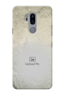 LG G7 Plus custom mobile back covers with vintage design