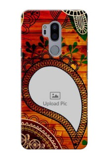LG G7 Thinq custom mobile cases: Abstract Colorful Design