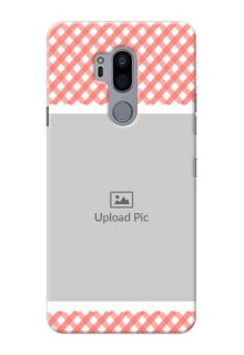 LG G7 Thinq custom mobile cases: Pink Pattern Design