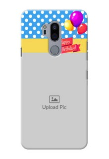 LG G7 Thinq custom mobile back covers: Happy Birthday Design