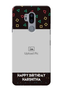 LG G7 Thinq custom mobile cases with confetti birthday design