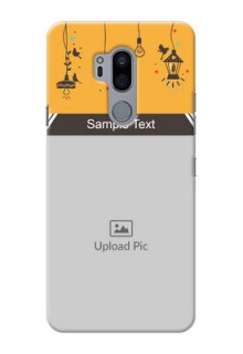LG G7 Thinq custom back covers with Family Picture and Icons