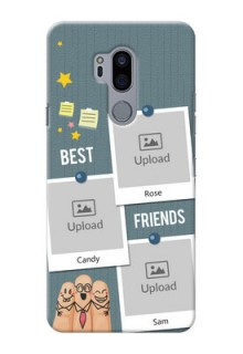 LG G7 Thinq Mobile Cases: Sticky Frames and Friendship Design
