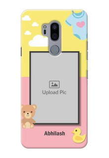 LG G7 Thinq Back Covers: Kids 2 Color Design