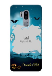 LG G7 Thinq Personalised Phone Cases: Halloween frame design