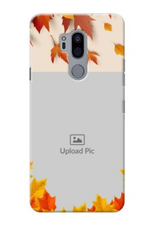 LG G7 Thinq Mobile Phone Cases: Autumn Maple Leaves Design