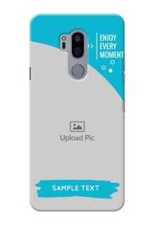 LG G7 Thinq Personalized Phone Covers: Happy Moment Design