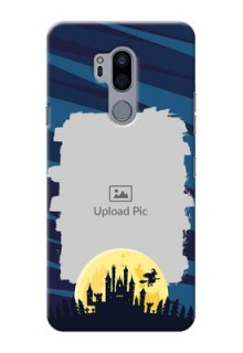 LG G7 Thinq Back Covers: Halloween Witch Design
