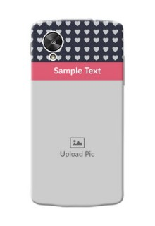 LG Nexus 5 Love Symbols Mobile Cover Design