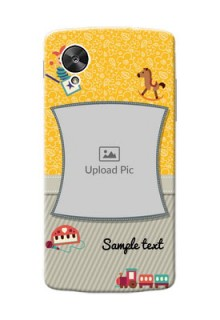 LG Nexus 5 Baby Picture Upload Mobile Cover Design