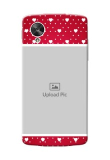 LG Nexus 5 Beautiful Hearts Mobile Case Design