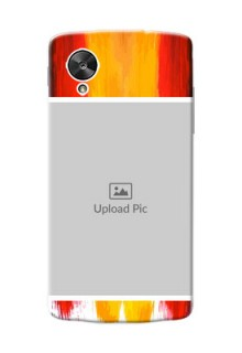 LG Nexus 5 Colourful Mobile Cover Design