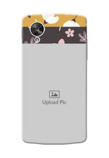 LG Nexus 5 stylish floral side Design