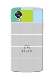 LG Nexus 5 white boxes pattern Design