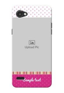 LG Q6 Plus Cute Mobile Case Design
