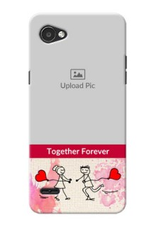 LG Q6 Plus Just You And Me Mobile Back Case Design