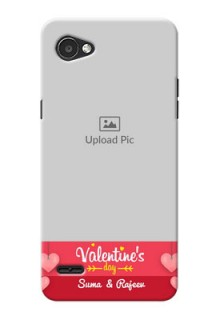 LG Q6 Plus valentines day couple Design