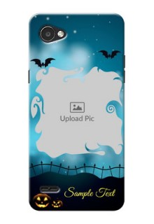 LG Q6 Plus halloween design with designer frame Design
