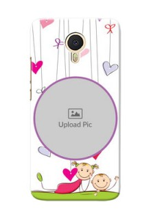 Meizu M3 Note Cute Babies Mobile Cover  Design