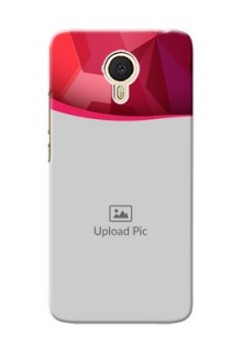 Meizu M3 Note Red Abstract Mobile Case Design