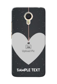 Meizu M3 Note Hanging Heart Mobile Back Case Design