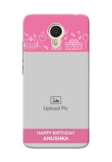 Meizu M3 Note plain birthday line arts Design