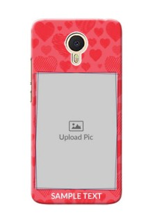 Meizu M3 Note multiple hearts symbols Design