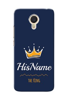 Meizu M3 Note King Phone Case with Name