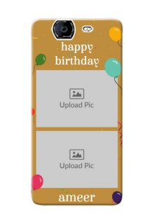 Micromax A350 2 image holder with birthday celebrations Design