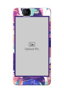 Micromax A350 abstract floral Design