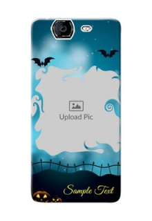 Micromax A350 halloween design with designer frame Design