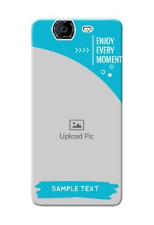 Micromax A350 enjoy every moment Design