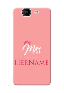 Micromax A350 Custom Phone Case Mrs with Name