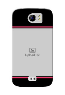 Micromax Canvas 2 Plus Photo With Text Mobile Case Design