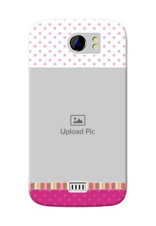 Micromax Canvas 2 Plus Cute Mobile Case Design