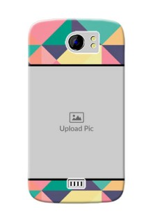 Micromax Canvas 2 Plus Bulk Picture Upload Mobile Case Design