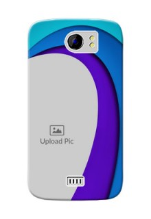 Micromax Canvas 2 Plus Simple Pattern Mobile Case Design