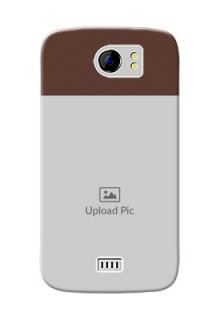 Micromax Canvas 2 Plus Elegant Mobile Back Cover Design