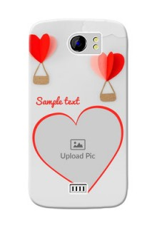 Micromax Canvas 2 Plus Love Abstract Mobile Case Design