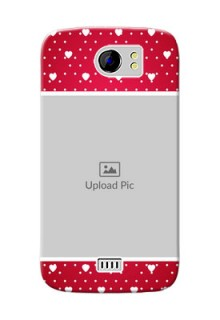 Micromax Canvas 2 Plus Beautiful Hearts Mobile Case Design